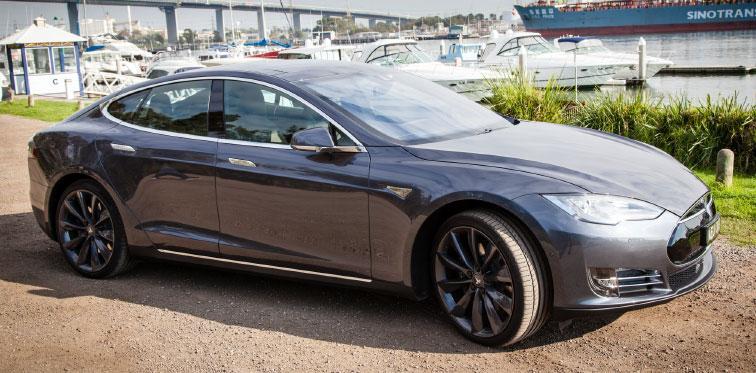 Tesla Model S premium performance AWD sedan