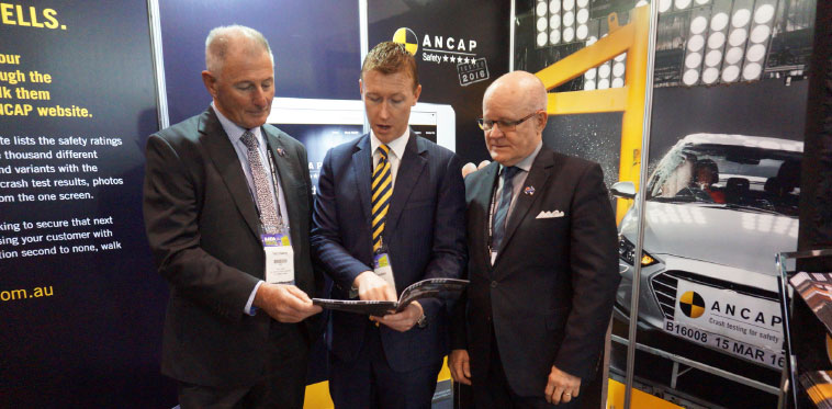 Terry Keating - AADA Chairman, James Goodwin - ANCAP CEO and David Blackhall - AADA CEO